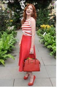 Gibson X City Safari Roselyn Weaver skirt Sz L